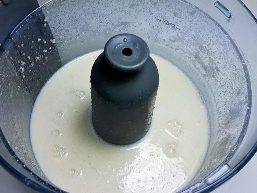 przepis wegańska mozzarella