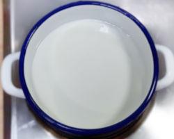 ogrzewanie mleka